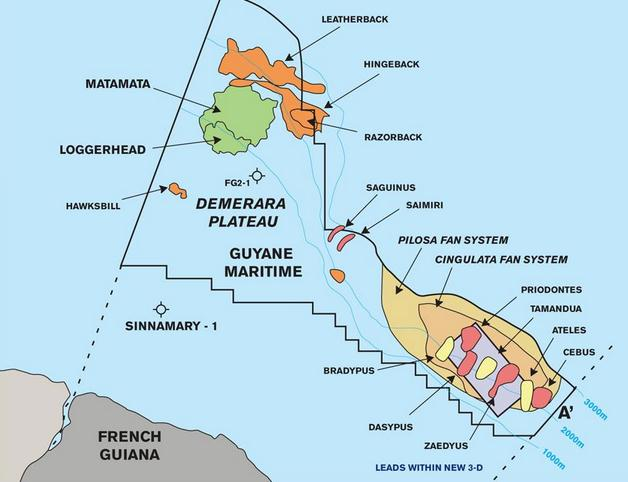 Shell-Spuds-2nd-Exploration-Well-Offshore-French-Guiana